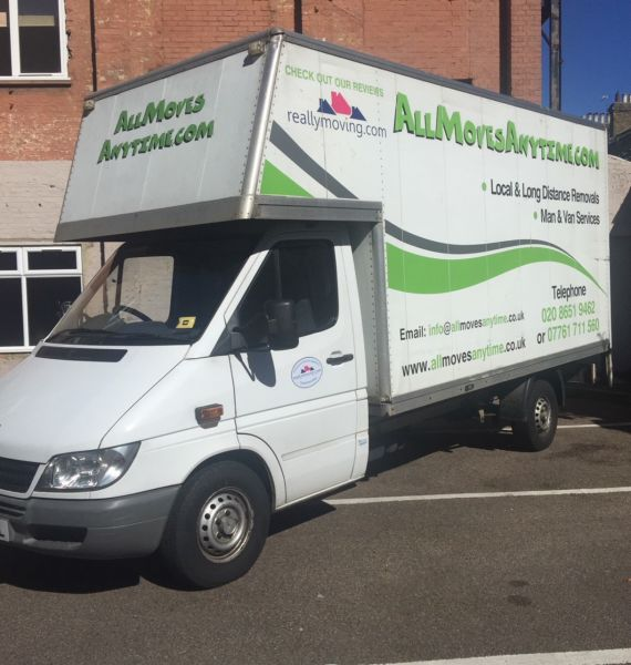 Allmoves Anytime Removal Van: Swipe To View More Images