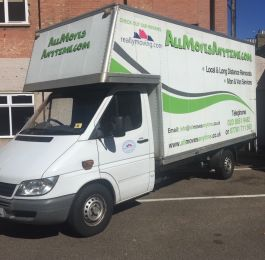 Allmoves Anytime Removal Van: Click Here To View Larger Image